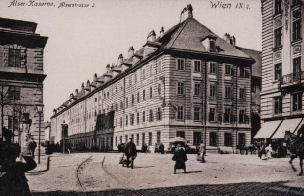 Alser Kaserne Foto aus dem Archiv