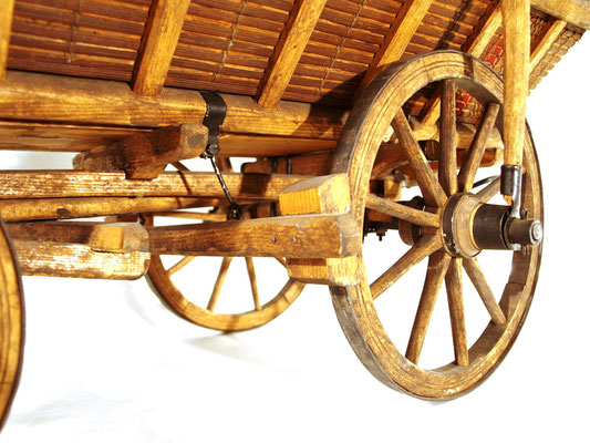 Wagen-Modell. Der Alsergrund war zentraler Pferde-Stellplatz für Wien.