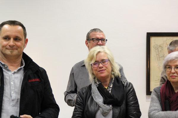 Momo Kreutz und Norbert Doubek
