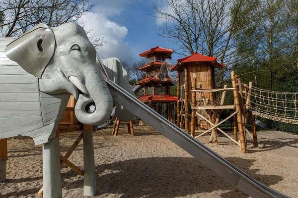"©ghepetto │ Rutsche 68 - Elefant ""Ottilie"""