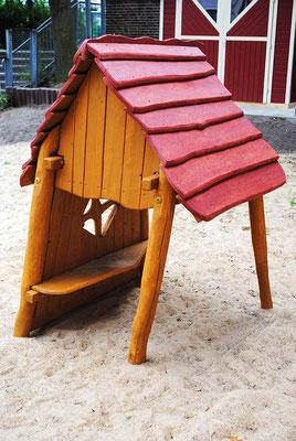 """©ghepetto │ Spielhaus 31 """"Krümel"""" │ Art. Nr. 30895"""