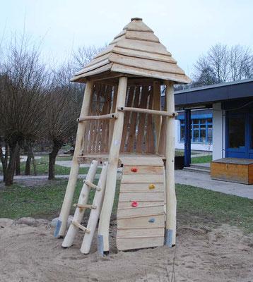 ©ghepetto │ Klettern 19 │ Bestellnummer: 30030 (Fünfeckturm mit diversen  Anbauten)