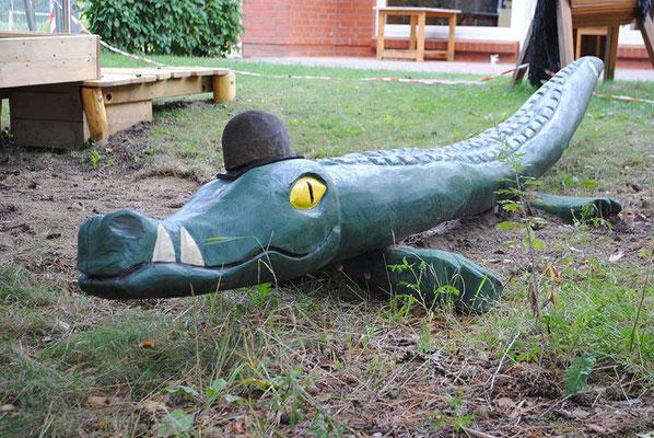 ©ghepetto │ Krokodil mit Hut