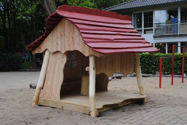 """©ghepetto │ Spielhaus """"Kleine Bude"""" │ Art. Nr. 31029"""
