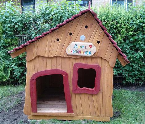 """©ghepetto │ Haus 90 """"Bunte Erdmännchen"""" │ Bestellnummer: 30489"""