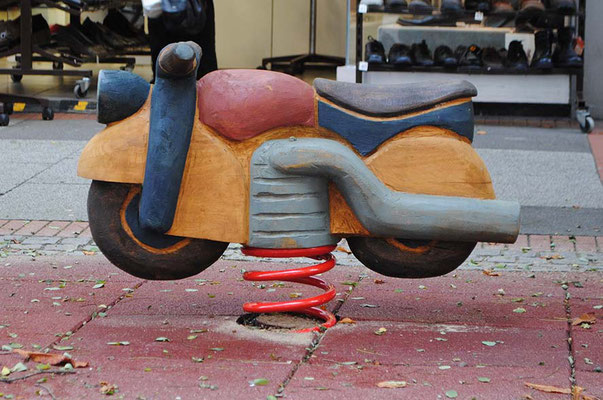 ©ghepetto │ Federwipper Motorrad │ Bestellnummer: 30273