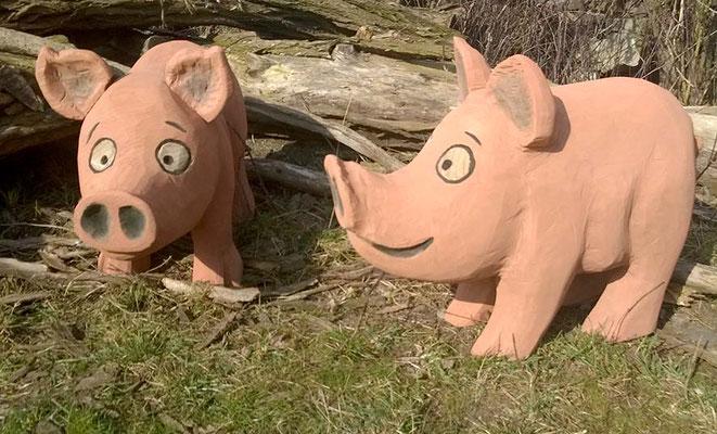 ©ghepetto │ Bauernhoftiere: Schweine