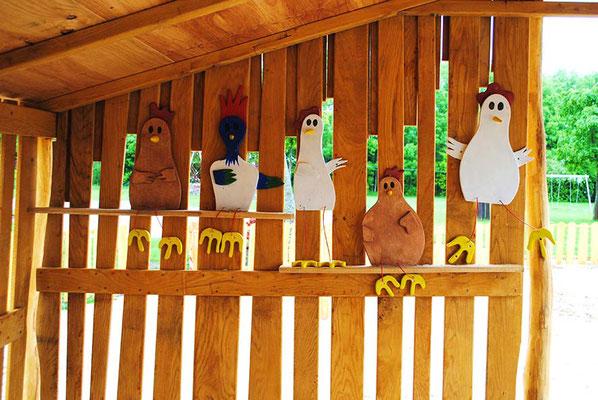 ©ghepetto │ 2D Figuren: Hühner