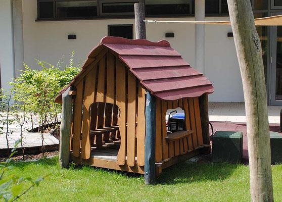 "©ghepetto │ Haus 59 ""Buntes Spielhaus"" │ Art. Nr. 30489"