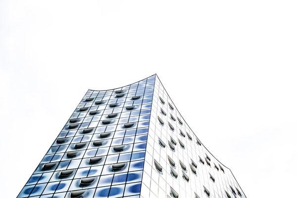 Hamburg - Fassade Elbphilharmonie