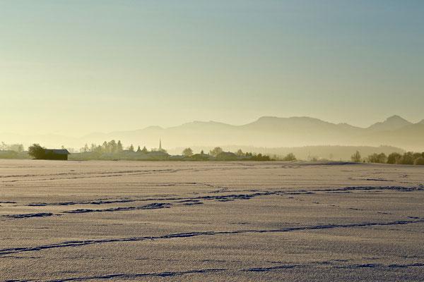 Chieminger Winterlandschaft