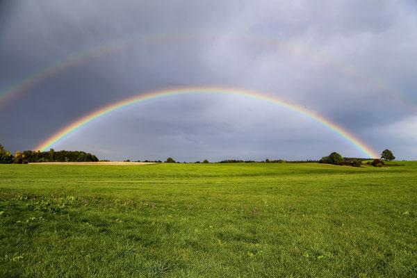 Regenbogen bei Stöttham