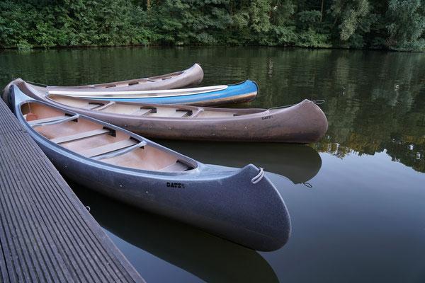 Hamburg - Kanus auf der Alster