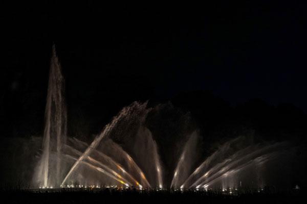 """Wasserlichtkonzert - """"Planten un Bloomen"""""""