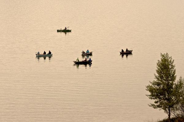 Angler am 1. Mai