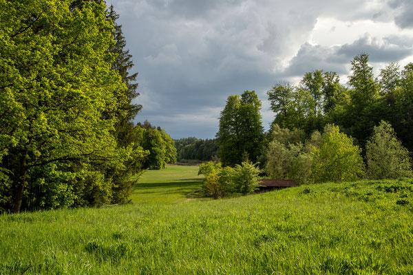 Aufziehendes Gewitter am Brunnsee