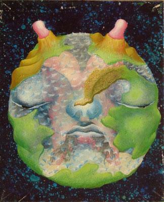 世界 油絵 F3号(2000年)