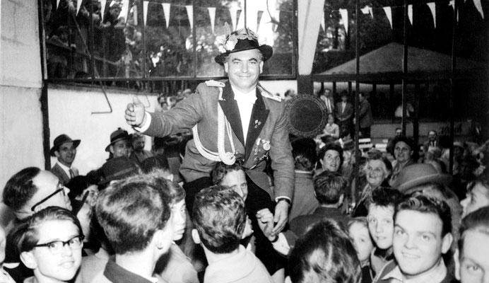 Schützenkönig 1957 / 58 Heinz Hubert Baum