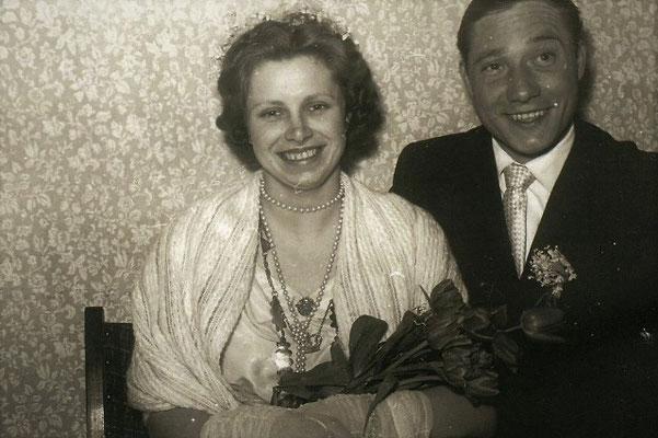 Maikönig Christian Kürten mit Maikönigin Margarete Caspari