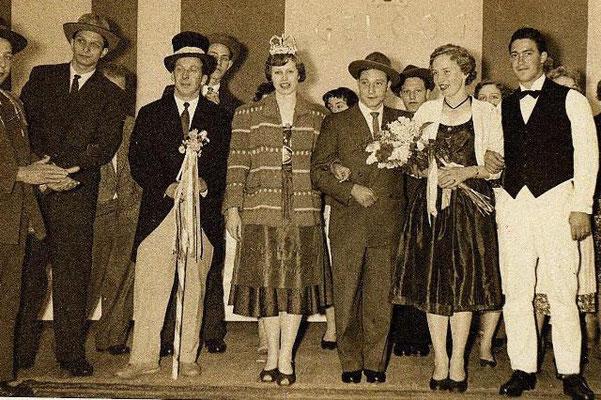 Königspaar 1956 und 1957