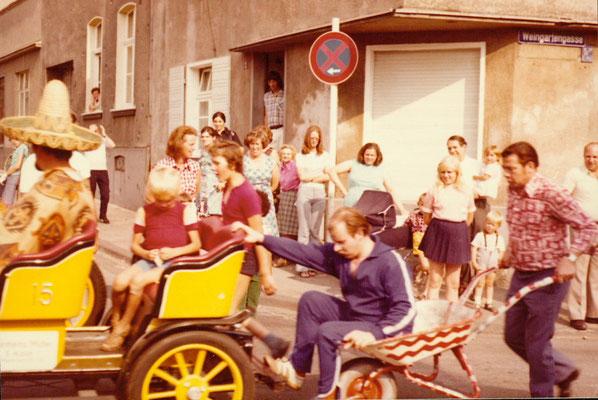 Schubkarrenrennen 1973