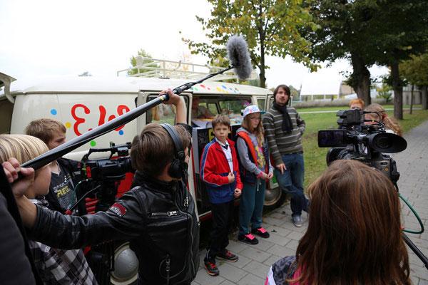 Produktionsworkshop Schwedt 2013. Foto: Till Krauße