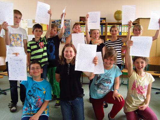 Schulbesuche in Schwedt 2013. Foto: Antje Materna