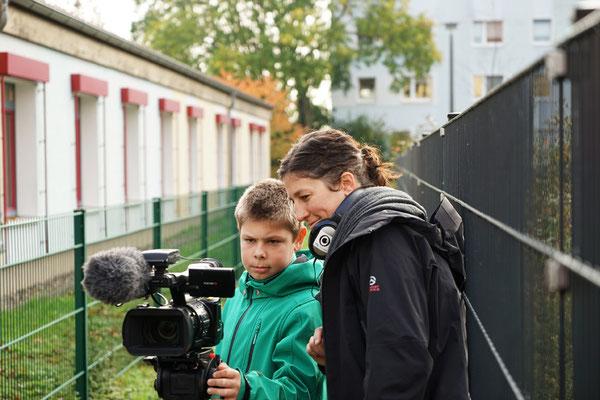 Produktionsworkshop Schwedt 2014. Foto: Antje Materna