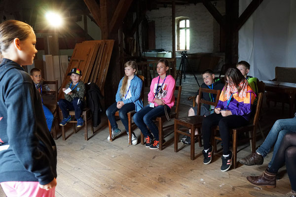 Drehbuchworkshop Schwedt 2014. Foto: Antje Materna