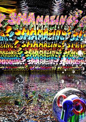 SMAMAZING!, 2019 (Aluminium)