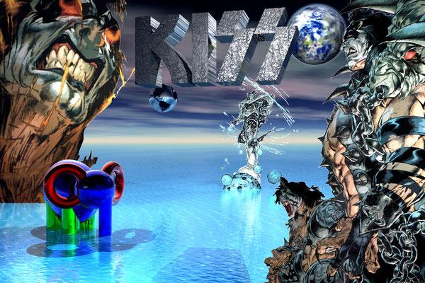 KISS, 2008 (Aluminium)