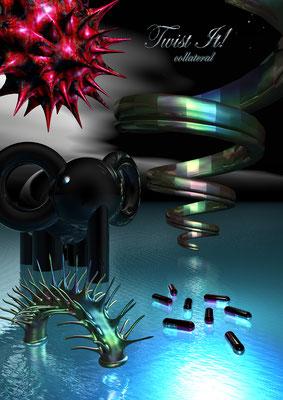 PICTURE TWO - TWIST IT, 2011 (Aluminium)