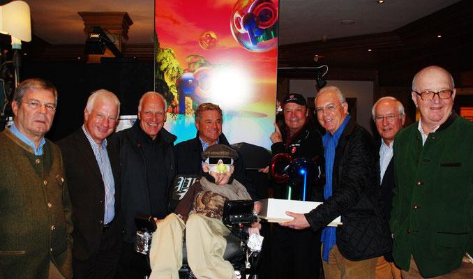 KARL HOPFNER, BULLE ROTH, FRANZ BECKENBAUER & ALOIS HARTL
