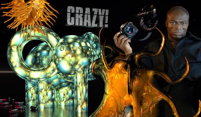 CRAZY, 2010 (Aluminium)