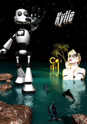 KYLIE, 2008 (Aluminium)