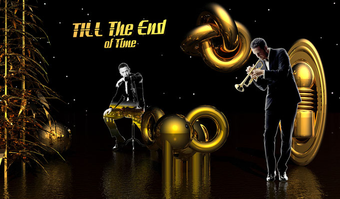 TILL THE END OF TIME, 2009 (Aluminium)
