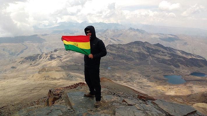 Besteigung des Chacaltaya Bolivien