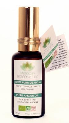 Aceite de argán de Moroccan Biocosmetic