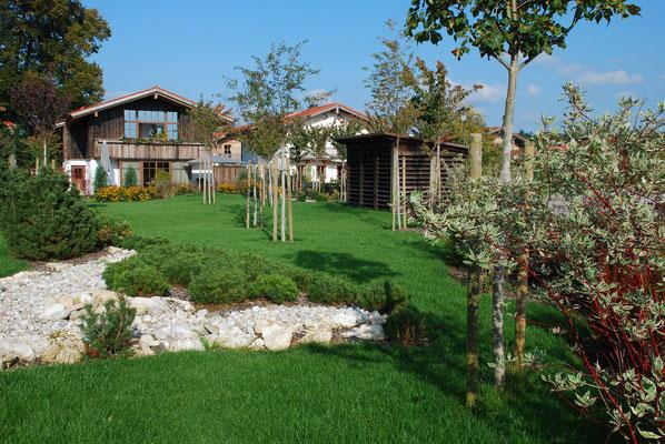 Ein Garten für zwölf Wohneinheiten