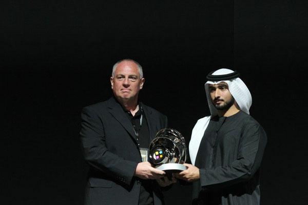 Überreichung der HIPA Trophy