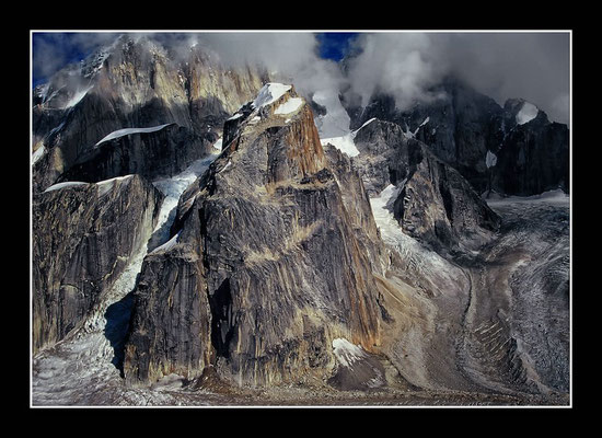 Gletscherflug um den Mt. McKinley