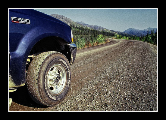 Dempster Highway - 750 Meilen bis zur Beringsee