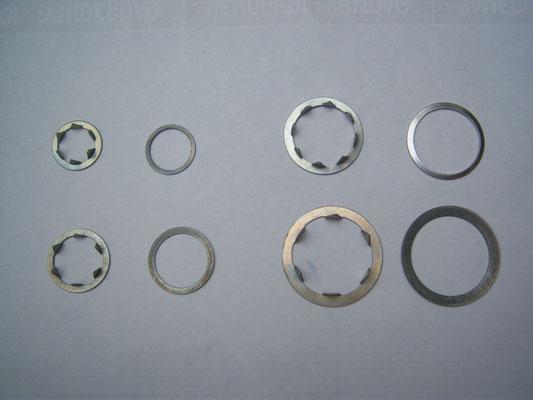 Kronenring anneau qui sert à solidifier la toile au sommet, 7, 10, 14, 20 mm