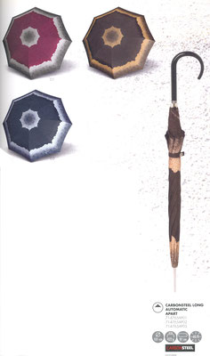 714765AP Carbonsteel  Apart 01 bordeaux - 02 brun - 03 bleu