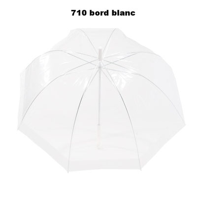 710 forme cloche avec bord blanc