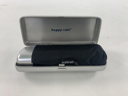 63107 Mybrella parapluie plat noir manuel dans une boite à lunettes