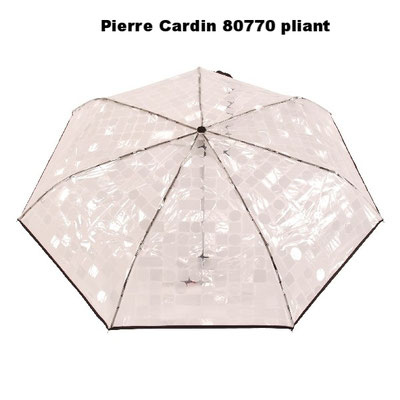80770 pliant Pierre Cardin transparent