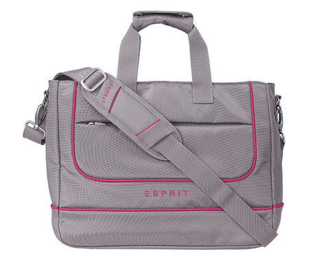 12730 Notebook bag taupe berry