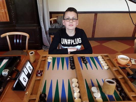 Jüngster Newcomer und Teilnehmer am Hannover-Cup ist der 12jährige Anton Zimmer. Seine Turnierteilnahme ist startgeldfrei.... er wurde gesponsort.