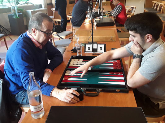 Finale CONSOLATION (Trostrunde): Renzo gegen Kadir
